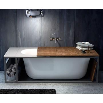 Glass 1989 Naked bathtub...